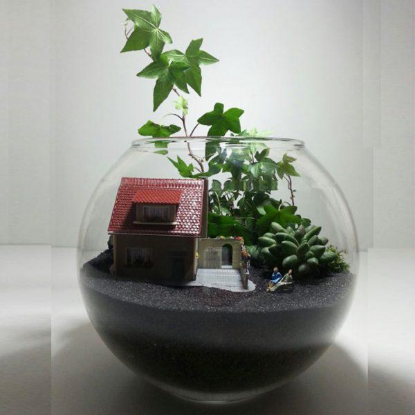 Yeşil Atölye - Aşk Konseptli Terrarium