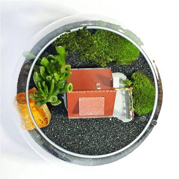 Yeşil Atölye - Ev Konseptli Terrarium