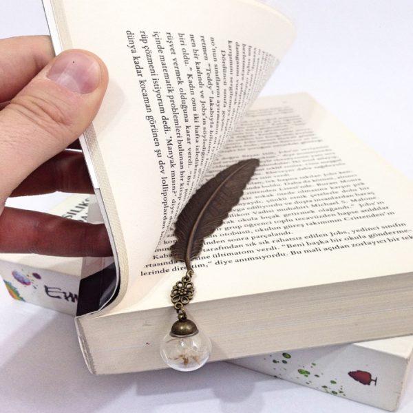 Yeşil Atölye - Karahindibalı Kitap Ayracı